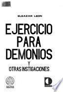 Ejercicio para demonios y otras instigaciones