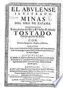 El abulense ilustrado, minas del oro de España