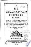 El eclesiastico perfecto
