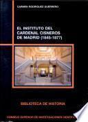 El Instituto del Cardenal Cisneros de Madrid, 1845-1877