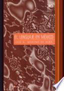 El lenguaje en México