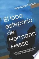 El lobo estepario de Hermann Hesse