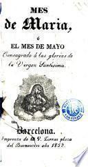 El Mes de Maria, o, El mes de mayo