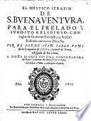 El mystico Serafin. Illustrado con varios discursos por Juan Pablo Fons