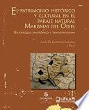 EL PATRIMONIO HISTÓRICO Y CULTURAL EN EL PARAJE NATURAL MARISMAS DEL ODIEL