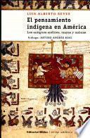 El pensamiento indígena en América