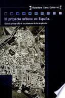 El proyecto urbano en España