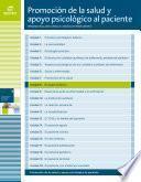 El sujeto enfermo (Promoción de la salud y apoyo psicológico al paciente)