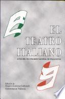 El teatro italiano
