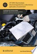 electricidad, electromagnetismo y electrónica aplicados al automóvil. TMVG0209