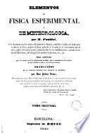 Elementos de física esperimental y de meteorología