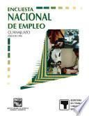 Encuesta Nacional de Empleo. Guanajuato. 1996