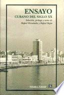 Ensayo cubano del siglo XX