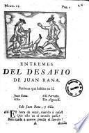 Entremés del desafío de Juan Rana