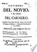 Entremes del Novio y el Sueño del Carnero. [In verse.]