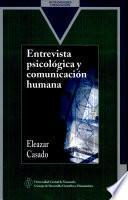 Entrevista psicológica y comunicación humana