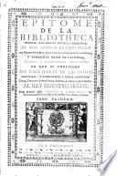 Epitome de la bibliotheca oriental, y occidental, nautica, y geographica [ed. by A. Gonzalez de Barcia Carballido y Zuñiga].