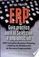 ERP: Guía práctica para la selección e implantación