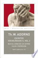 Escritos Sociológicos II. Vol. 2