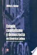Estado, capitalismo y democracia en América Latina