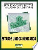 Estados Unidos Mexicanos. Conteo de Población y Vivienda, 1995. Resultados definitivos. Tabulados complementarios