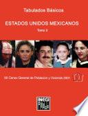 Estados Unidos Mexicanos. Tabulados básicos. XII Censo General de Población y Vivienda 2000. Tomo II