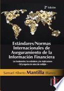 Estándares/Normas internacionales de aseguramiento de la información financiera - 2a Edición