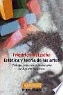 Estética y teoría de las artes