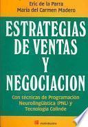 Estrategias de ventas y negociación