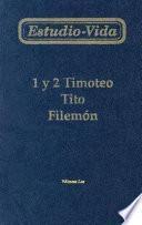 Estudio-Vida de 1 y 2 Timoteo Tito Filemon