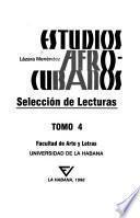 Estudios afro-cubanos