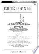 Estudios de economía