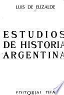 Estudios de historia argentina