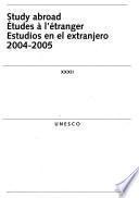 Estudios en el extranjero, 2004-2005