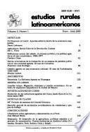 Estudios rurales latinoamericanos