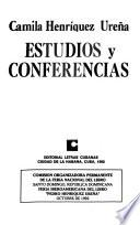 Estudios y conferencias