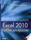 Excel 2010. Visual Basic para Aplicaciones