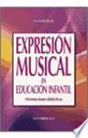 Expresión musical en Educación Infantil