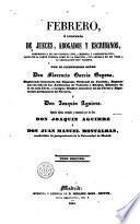 Febrero, ó, Librería de jueces, abogados y escribanos, 2