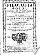 Filosofía moral