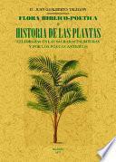 Flora biblio-poética, o Historia de las plantas celebradas en las Sagradas Escrituras y por los poetas antiguos