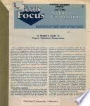 Focus: Technical Cooperation
