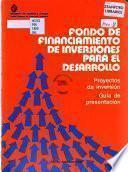 Fondo de Financiamiento de Inversiones para el Desarrollo