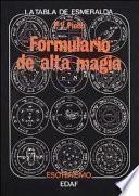 Formulario de alta magia