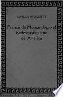 Francis de Miomandre; o El redescubbrimiento de América