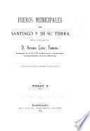 Fueros municipales de Santiago y de su tierra