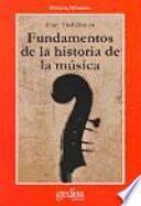 Fundamentos de la historia de la música