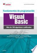 Fundamentos de programación Visual Basic (100 algoritmos codificados)
