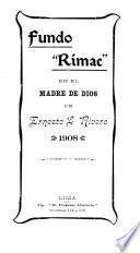 Fundo Rimac en el Madre de Dios de Ernesto L. Rivero