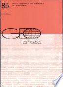 Geo - Critica - Proyectos Curriculares Y Didactica de la Geografia